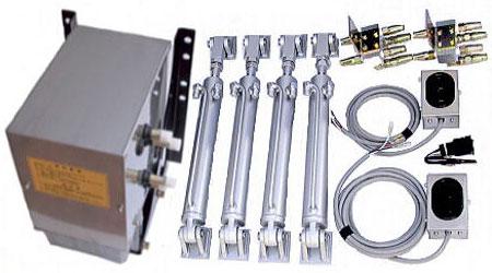 中型車ウイング用油圧装置